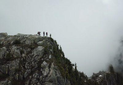 Ridge approaching Mt. Tzoonie